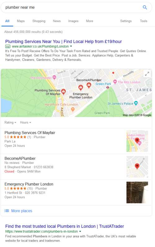 Local SEO & Map